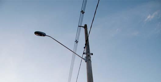 Rede de Distribuição de Energia Elétrica Mista Compacta